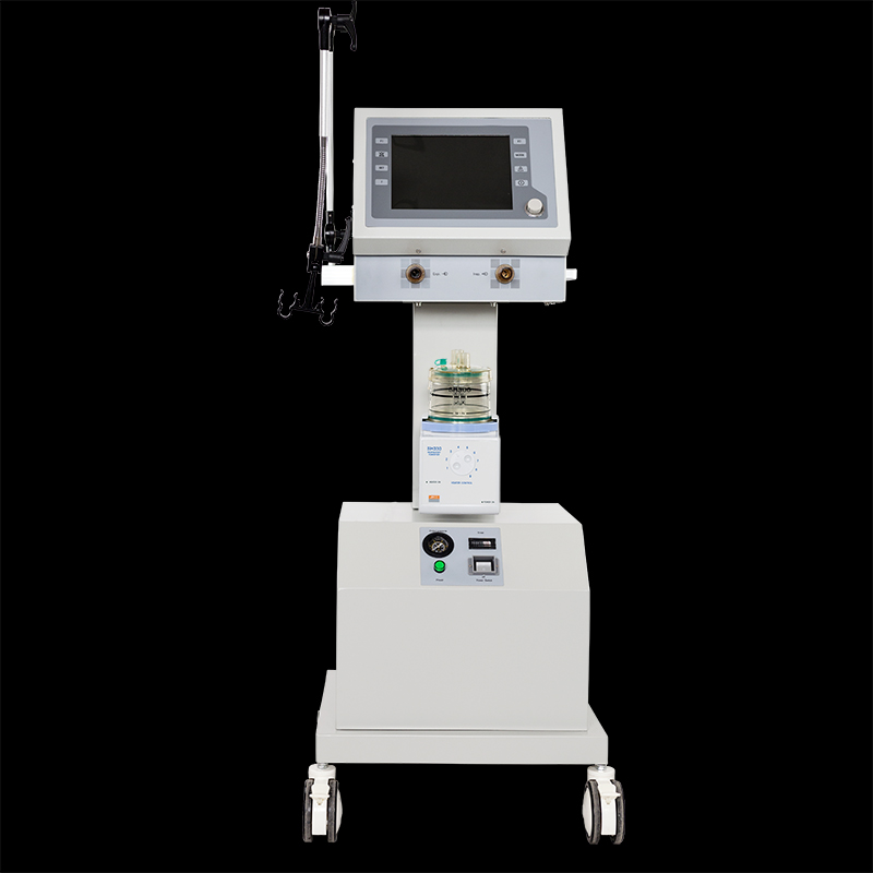 PA-900B ICU Ventilator with medical ventilator humidifier and air compressor