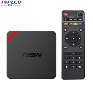 Android iptv box quad core linux systemT95N mini M8S+ android tv box