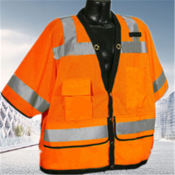 reflective coal mining safety vest Traffic and road construction safety waistcoat