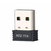 #05Mini USB 2.0 802.11n Standards 150Mbps Wifi Network Adapter Support 64/128 bit WEP WPA Encryption for Windows Vista MAC Linux