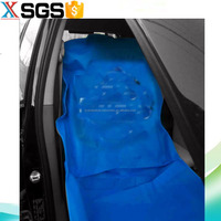 Disposable non woven car seat cover,wheel cover,gear cover by sets