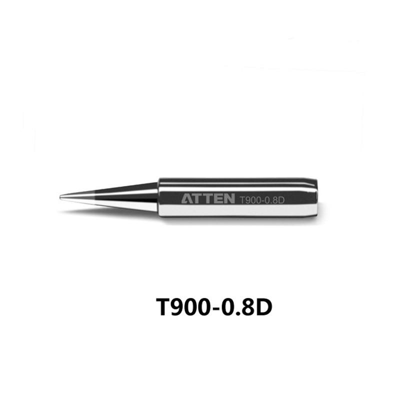 4pcs New Black Replace Soldering Solder Iron Tip For Hakko 936 900M-T-D Series