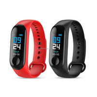 New M3 Bracelet IP67 Waterproof Watch Bluetooth band Health Wristbands Fitness Tracker Smart Band