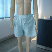 Disposable male non woven underwear briefs boxers for men