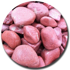 machine tumbled pebbles rock boulders