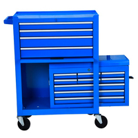 2019 New 13 Drawers Without Tools Blue AutoTool Cart