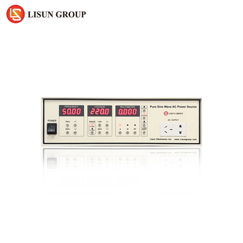 Lisun Lsp-1kvar 1kva Ac Power Source With High Precision And Communicate  With Pc Via Rs-232 - Buy Ac Power Current,Ac Power Source,Ac Power Source