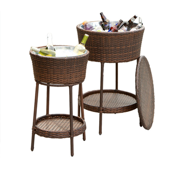 Outdoor Deck Yard Pool Patio Wine Table