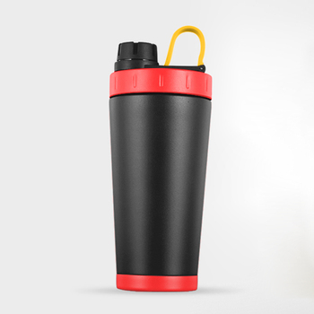 24 Ounce Classic Loop Top Leak Proof Flip Cap Vaccuum Insulated Shaker Fit Double Wall Stainless Steel Shaker Bottle
