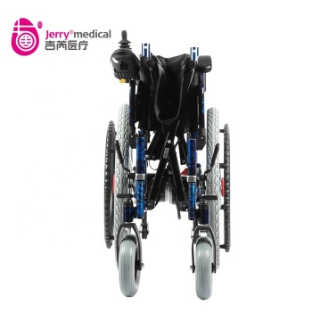 aluminum foldable  wheelchair lithium ion battery power wheelchair