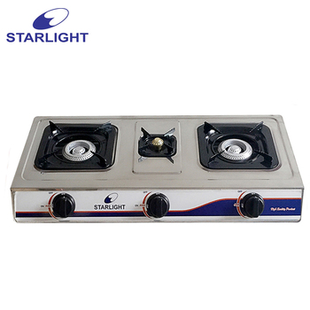 Starlight Table Stainless Steel Gas