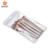 BUEART 7pcs portable champagne Private label Wholesale Make up Brushes Custom logo foundation eyebrow eyeliner eyeshadow brush