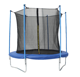 Baoxiang Lowest price big bungee jumping fitness trampoline with enclosure for sale for kids