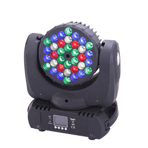 Disco stage light led beam moving head 36x3w rgbw dmx