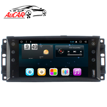 "AuCAR 7 ""Android Auto Radio voor <span class=keywords><strong>Jeep</strong></span> Universal Wrangler Kompas Commander <span class=keywords><strong>Grand</strong></span> <span class=keywords><strong>Cherokee</strong></span> 2008-2013 Stereo Video GPS BT 4G WiFi"