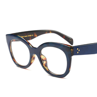 New design eyewear plastic spectacles optical frame for lady