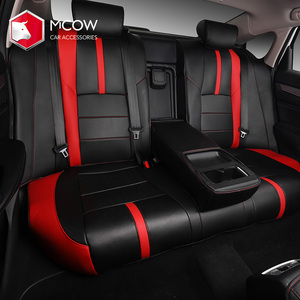 Hot Selling Car Seat Protector Factory Direct Sell Custom Leather Car Seat Cover Set Used For Acord 2018