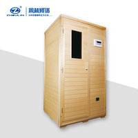 whole body medical treatment slimming sauna machines wooden far infrared sauna physiotherapy room