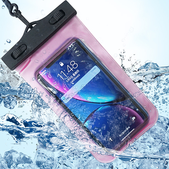 Universal IPX8 Available TPU Clear Dry Bag Waterproof Phone Pouch Case for All Mobile phones