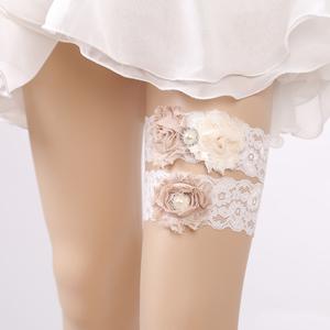 0a6d1a56e9b White Wedding Garter
