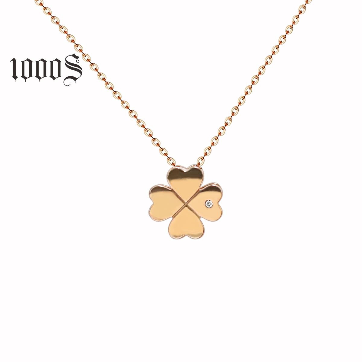 d7cb7c8e0a941 China Lucky Clover Necklace, China Lucky Clover Necklace ...