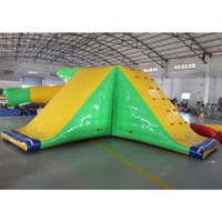 High Quality inflatable floating waterpark water toys game,inflatable water rock climbing wall