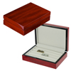 Sonny Mini Cufflink Box Wooden Cherry High Glossy Painting Jewellery Box for Cufflinks Ring Earrings etc.