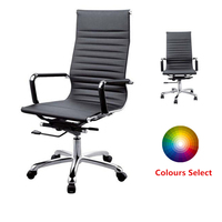 Hot Sale Big and Tall Office Chairs High Back ergonomic office chair leather Executive Chairs Black(FOH-F11-AL)
