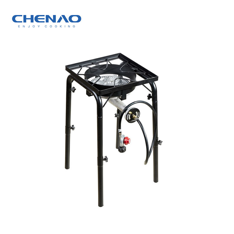 Afneembare Benen BBQ Draagbare Gas Grill Outdoor Grote Brander Kachel Camping Gasfornuis