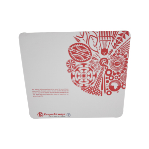 Anti slip logo printed tray mat paper for airline service
