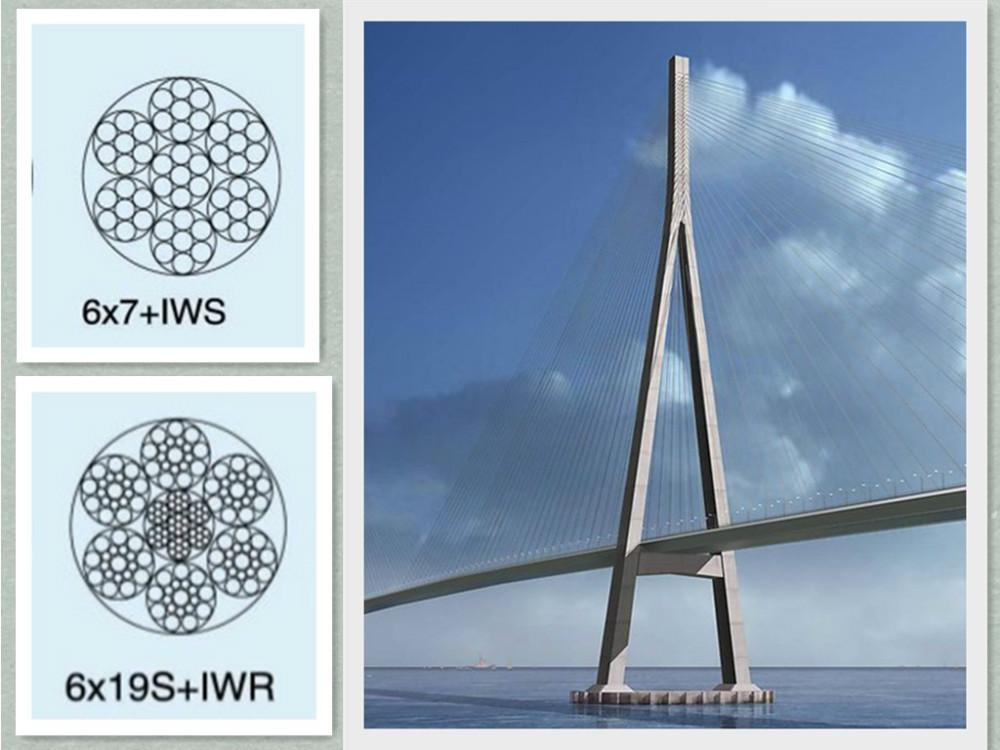 2017 New 6x19+iwrc 26mm Steel Wire Rope Tower Crane - Buy Galvanized ...