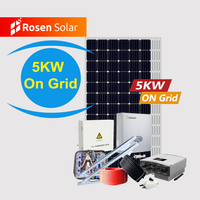 Best Price Solar Energy Systems Home Solar Panel System_Solarpanel System 5Kw On Grid