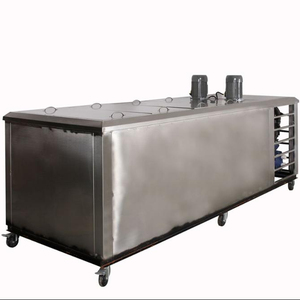 Commercial large - scale ice - brick machine stainless steel 1 - ton ice - making equipment can be customized ice - brick size