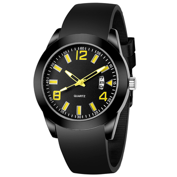 Wholesale Customization of Waterproof Silicone Quartz Watches for Student Sports Luminous Watches