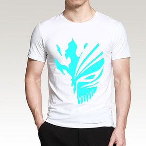 Free shipping high quality 100% premium cotton tees fashion t shirt