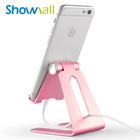 Universal cellphone support phone stand,desk anti slide table top adjustable mobile stand