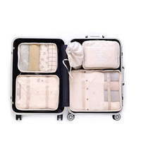 400419 wholesale promotional 6 pcs Waterproof Underwear Luggage Travel Storage Bag
