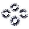 Private label eyelashes luxury long natural 3D mink 25mm eyelashes