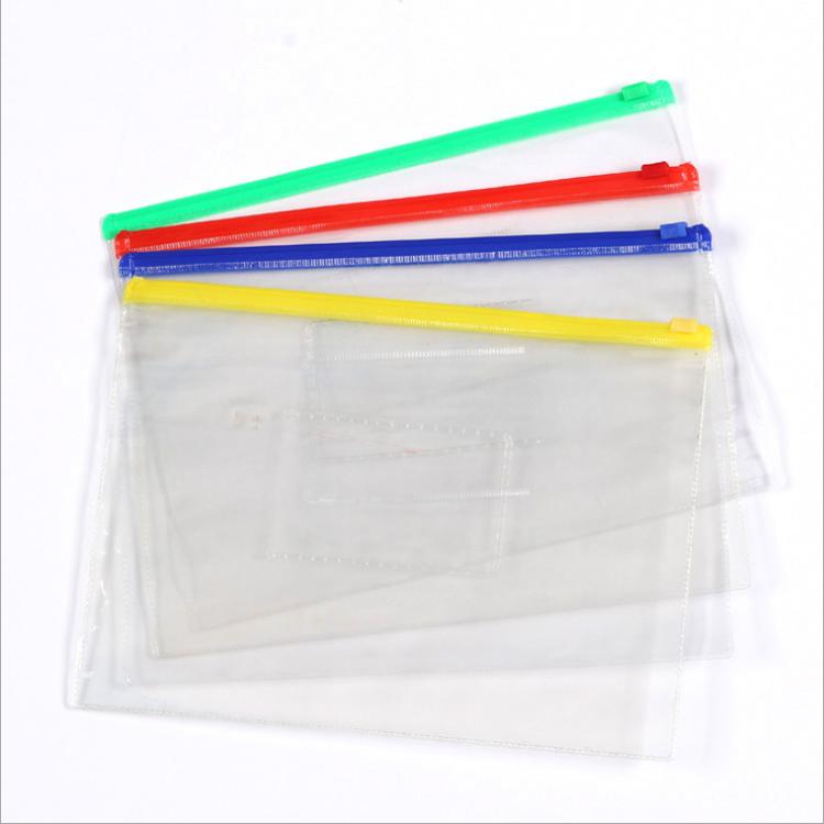 Hop selling waterproof transparent zip bag