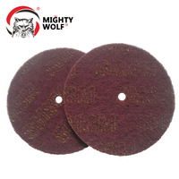Industrial 3M 7447 8 inch nylon red abrasive cleaning scouring pad for Polishing & Grinding