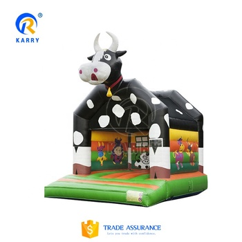 KR 2019 new style Popular inflatable castle,cow inflatable jumping bouncy castle for sale