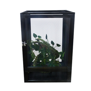 New style medium size aluminum screen cage 360 viewing network house for  tortoises and reptiles