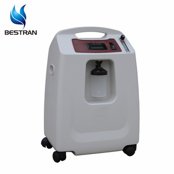BT-OC06 5L/8L/10L Large LCD screen mini portable oxygen concentrator 15 liter oxygen machine used for patients for sale