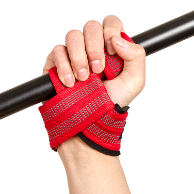 <strong>Weight</strong> Lifting Wrist Straps (Pair) for Weightlifting, Bodybuilding, Xfit, Strength Training,