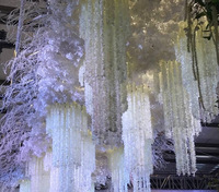 Artificial Wisteria Flower Ceiling Wedding String Decoration Flowers Artificial Flower Wedding Decoration