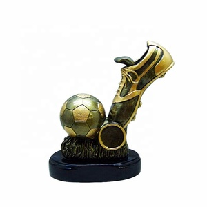 From china factory made resin award funny custom resin football trophies