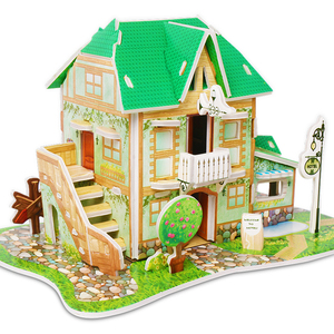 Wholesale Children Educational and Practical Building 3d Puzzle