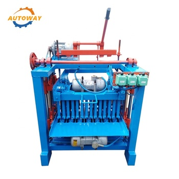 High Quality and High Output Manual Interlock and Block Making Machine