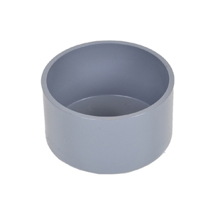 20mm 75mm 110mm 150mm 200mm 6 10 12 Inch Round Plastic UPVC PVC Pipe End Cap For Pvc Water Pipe