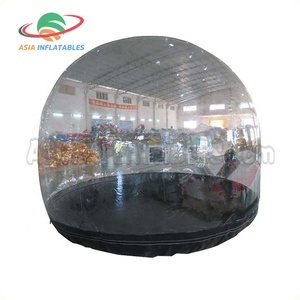 Waterproof Car Capsule Showcase Inflatable Car Tent Motorcycle Tent Cover
